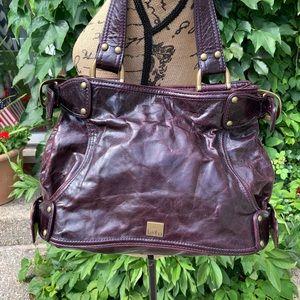 Distressed Leather KOOBA Tote